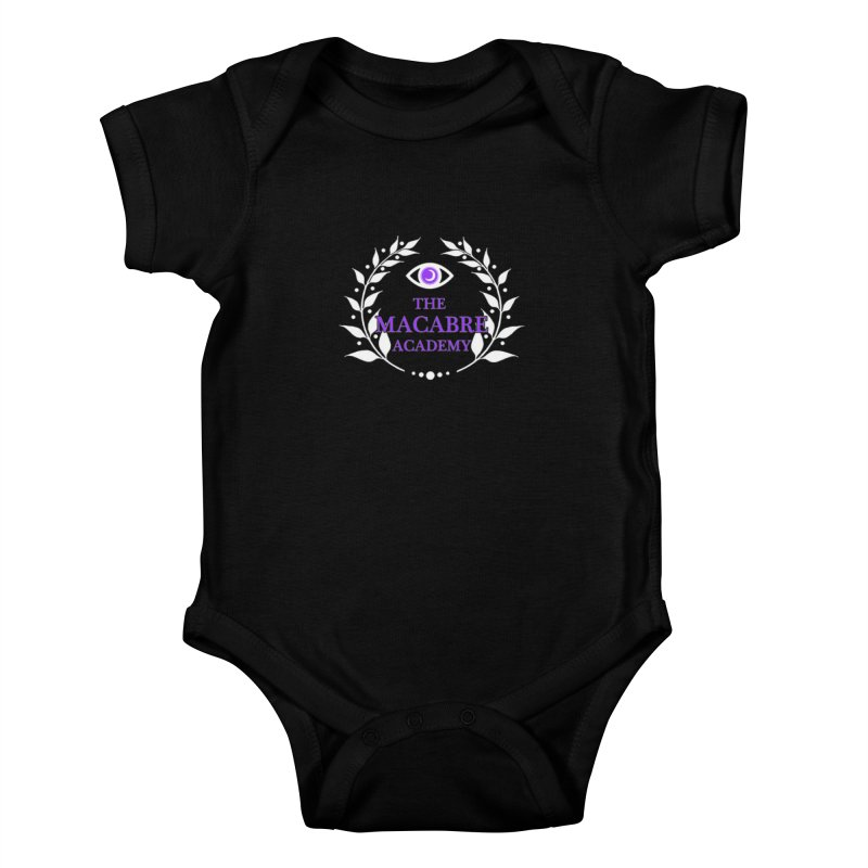 The Macabre Academy Logo Kids Baby Bodysuit by theMacabreAcademy's Artist Shop