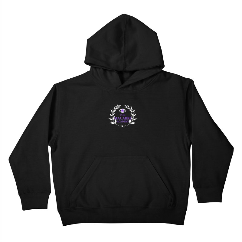 The Macabre Academy Logo Kids Pullover Hoody by theMacabreAcademy's Artist Shop