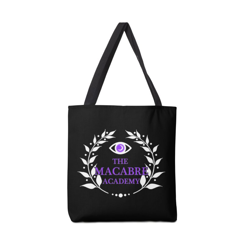 The Macabre Academy Logo Accessories Bag by theMacabreAcademy's Artist Shop