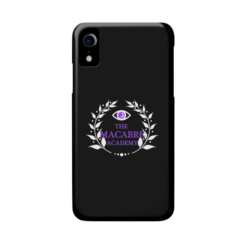 The Macabre Academy Logo Accessories Phone Case by theMacabreAcademy's Artist Shop