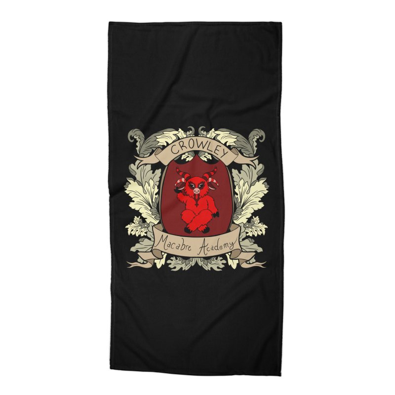 House Crowley Accessories Beach Towel by theMacabreAcademy's Artist Shop