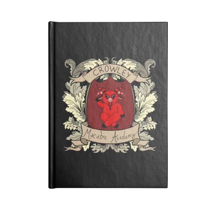 House Crowley Accessories Notebook by theMacabreAcademy's Artist Shop