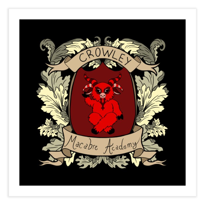House Crowley Home Fine Art Print by theMacabreAcademy's Artist Shop