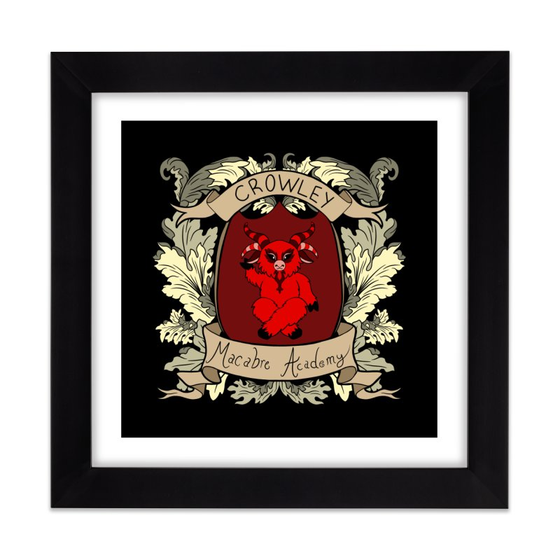 House Crowley Home Framed Fine Art Print by theMacabreAcademy's Artist Shop