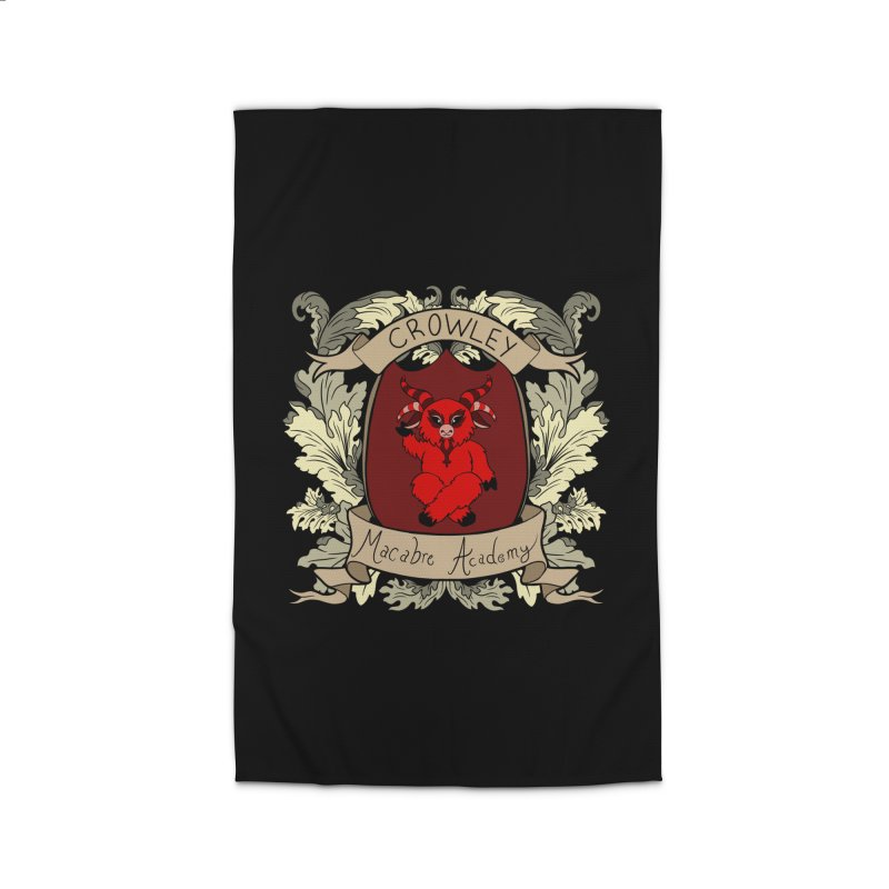 House Crowley Home Rug by theMacabreAcademy's Artist Shop