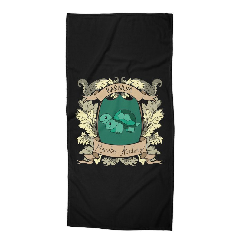 House Barnum Accessories Beach Towel by theMacabreAcademy's Artist Shop