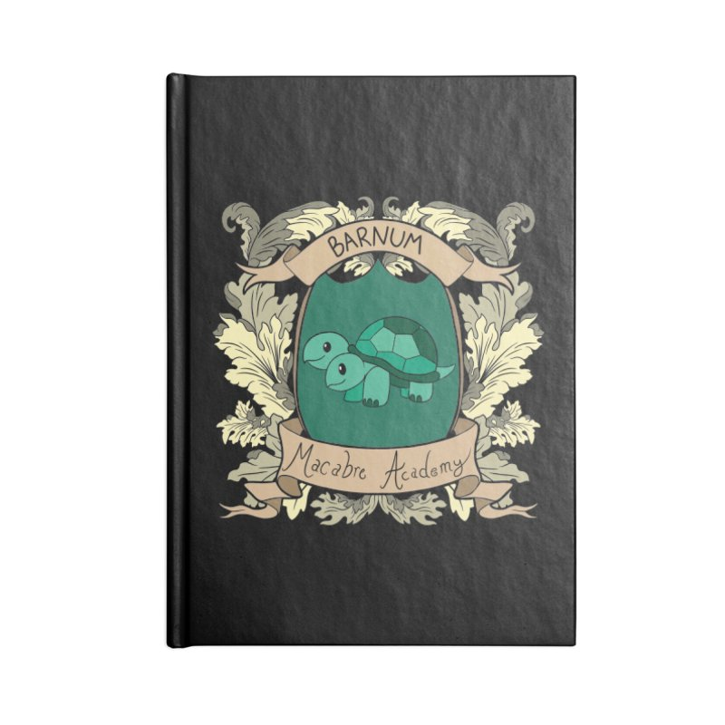 House Barnum Accessories Notebook by theMacabreAcademy's Artist Shop