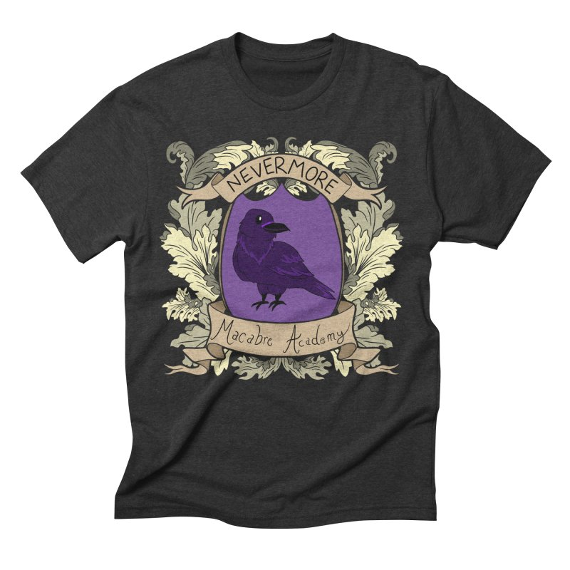 House Nevermore Men's T-Shirt by theMacabreAcademy's Artist Shop