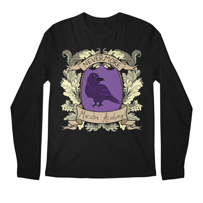 House Nevermore Men's Longsleeve T-Shirt by theMacabreAcademy's Artist Shop