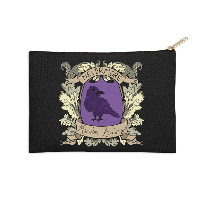 House Nevermore Accessories Zip Pouch by theMacabreAcademy's Artist Shop