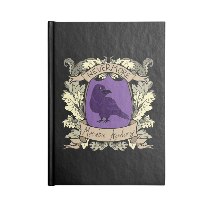 House Nevermore Accessories Notebook by theMacabreAcademy's Artist Shop