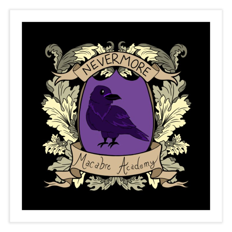 House Nevermore Home Fine Art Print by theMacabreAcademy's Artist Shop