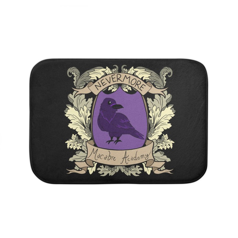 House Nevermore Home Bath Mat by theMacabreAcademy's Artist Shop