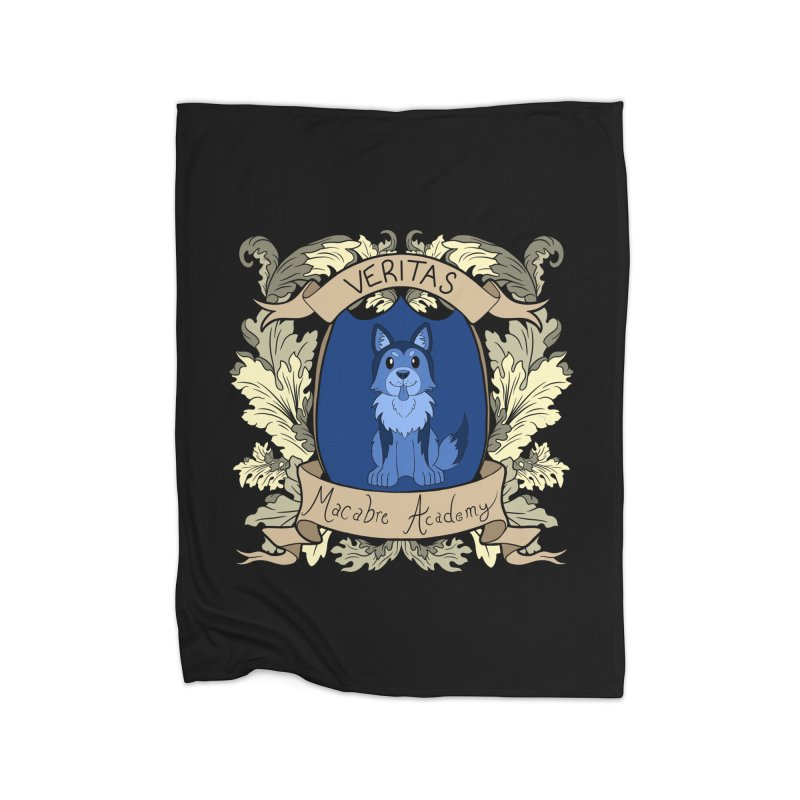 House Veritas Home Blanket by theMacabreAcademy's Artist Shop