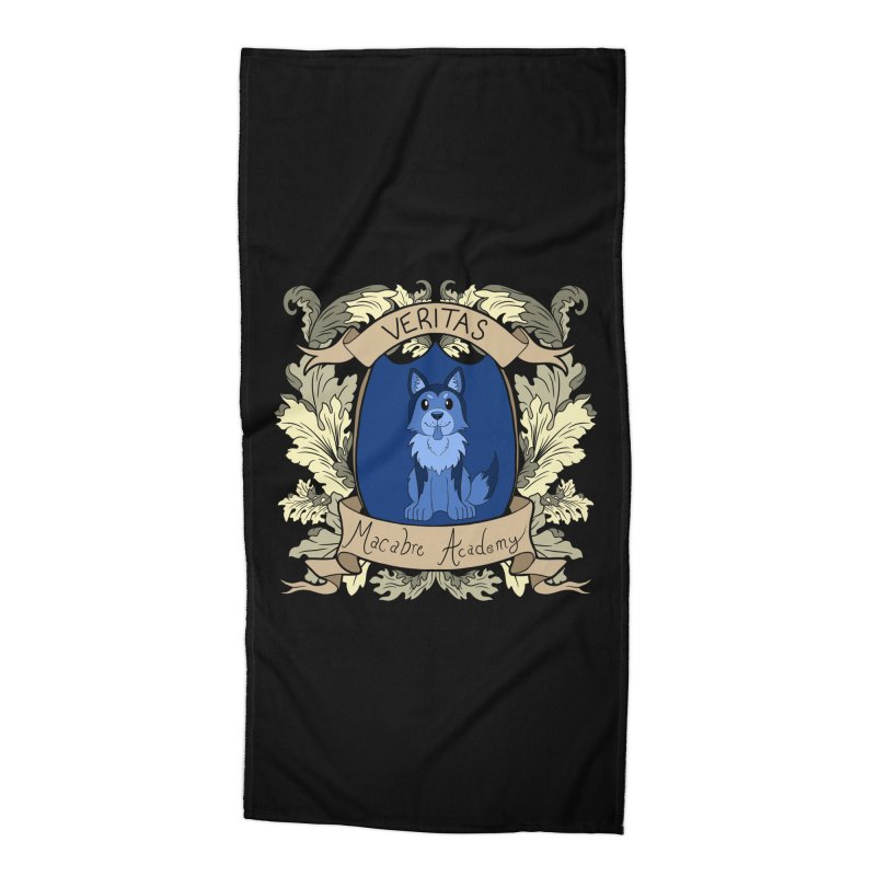 House Veritas Accessories Beach Towel by theMacabreAcademy's Artist Shop