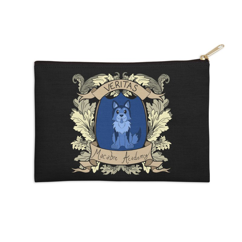 House Veritas Accessories Zip Pouch by theMacabreAcademy's Artist Shop