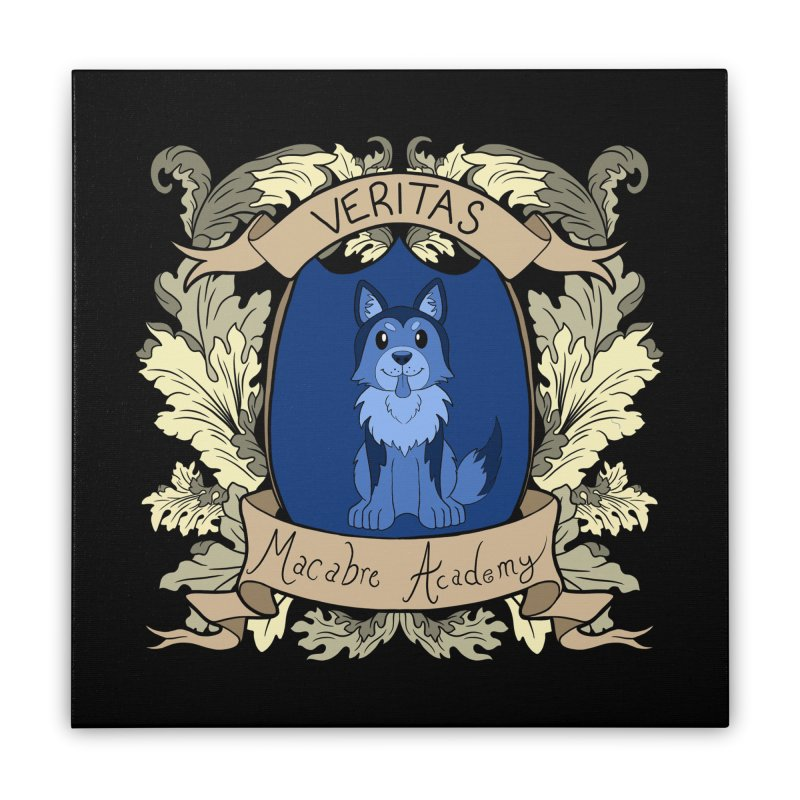House Veritas Home Stretched Canvas by theMacabreAcademy's Artist Shop