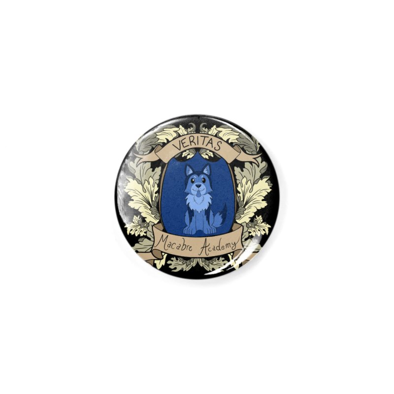 House Veritas Accessories Button by theMacabreAcademy's Artist Shop