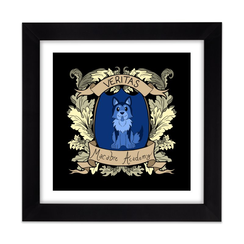 House Veritas Home Framed Fine Art Print by theMacabreAcademy's Artist Shop