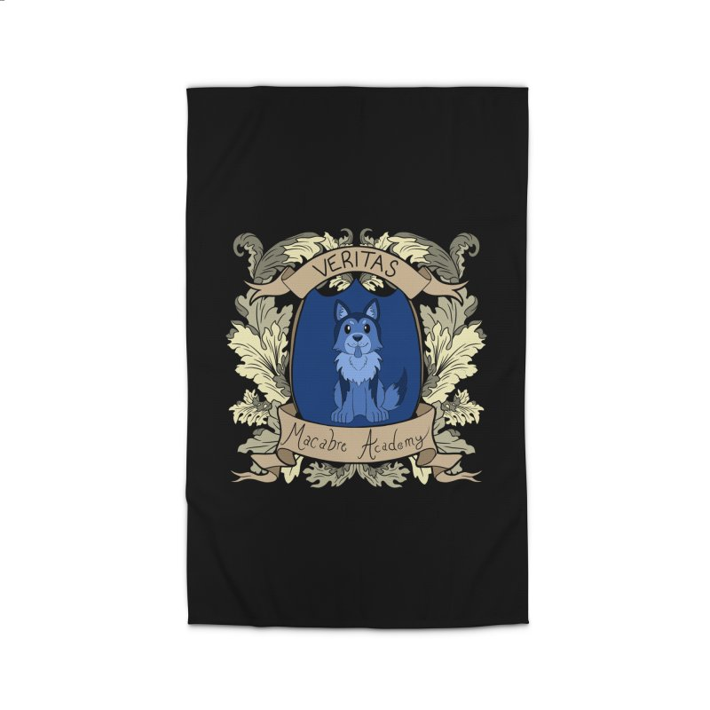 House Veritas Home Rug by theMacabreAcademy's Artist Shop