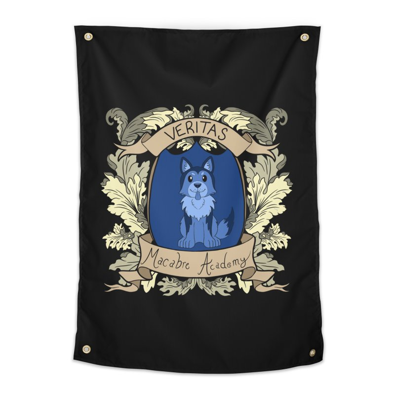 House Veritas Home Tapestry by theMacabreAcademy's Artist Shop
