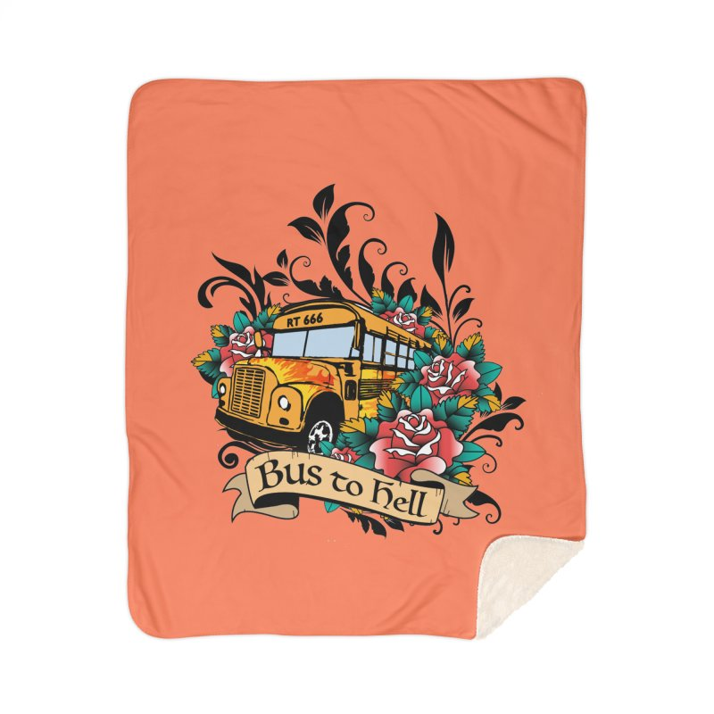 Brandi's Bus to Hell Home Blanket by theMacabreAcademy's Artist Shop