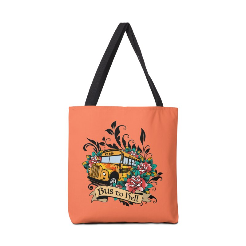 Brandi's Bus to Hell Accessories Bag by theMacabreAcademy's Artist Shop