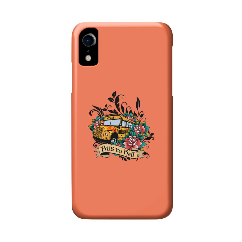 Brandi's Bus to Hell Accessories Phone Case by theMacabreAcademy's Artist Shop
