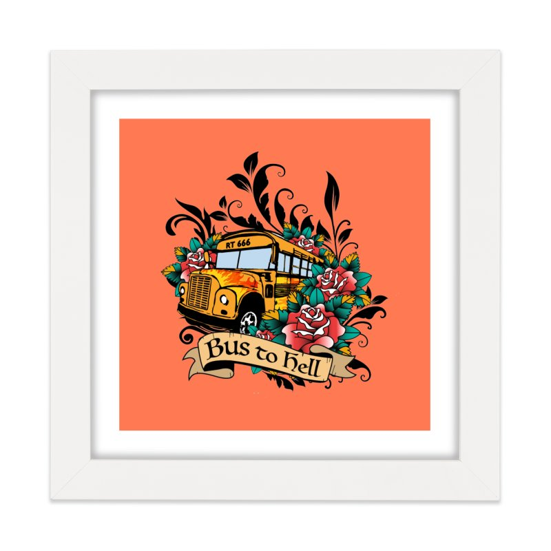 Brandi's Bus to Hell Home Framed Fine Art Print by theMacabreAcademy's Artist Shop