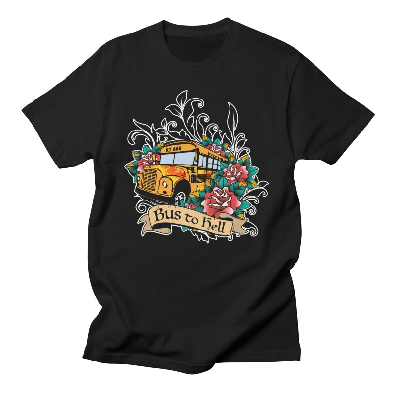 Brandi's Bus to Hell Men's T-Shirt by theMacabreAcademy's Artist Shop