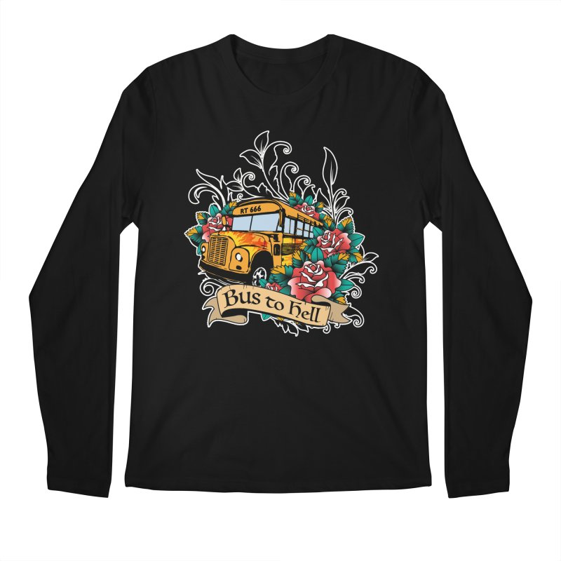 Brandi's Bus to Hell Men's Longsleeve T-Shirt by theMacabreAcademy's Artist Shop