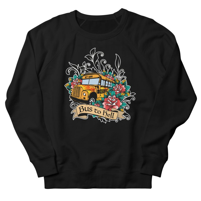 Brandi's Bus to Hell Women's Sweatshirt by theMacabreAcademy's Artist Shop