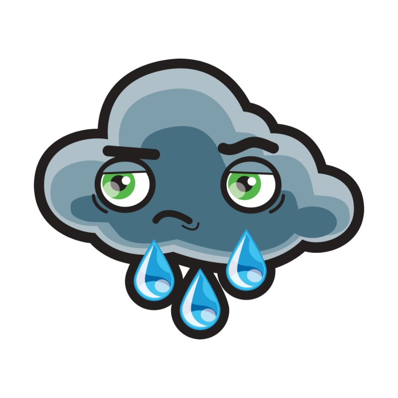 Rain Men's T-Shirt by MAG(ic) creatures