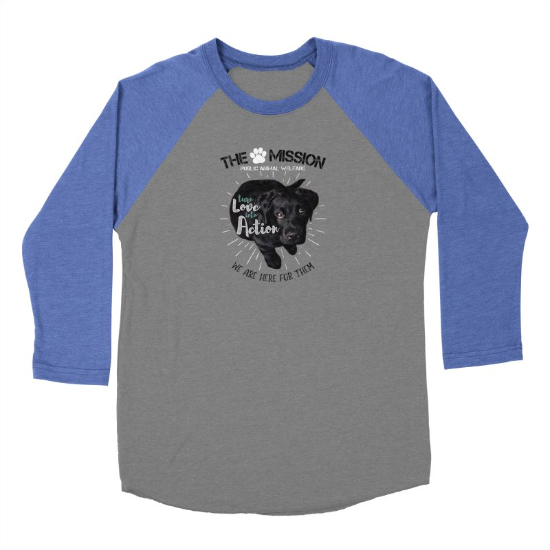 Turn Love into Action Men's Longsleeve T-Shirt by The PAW Mission