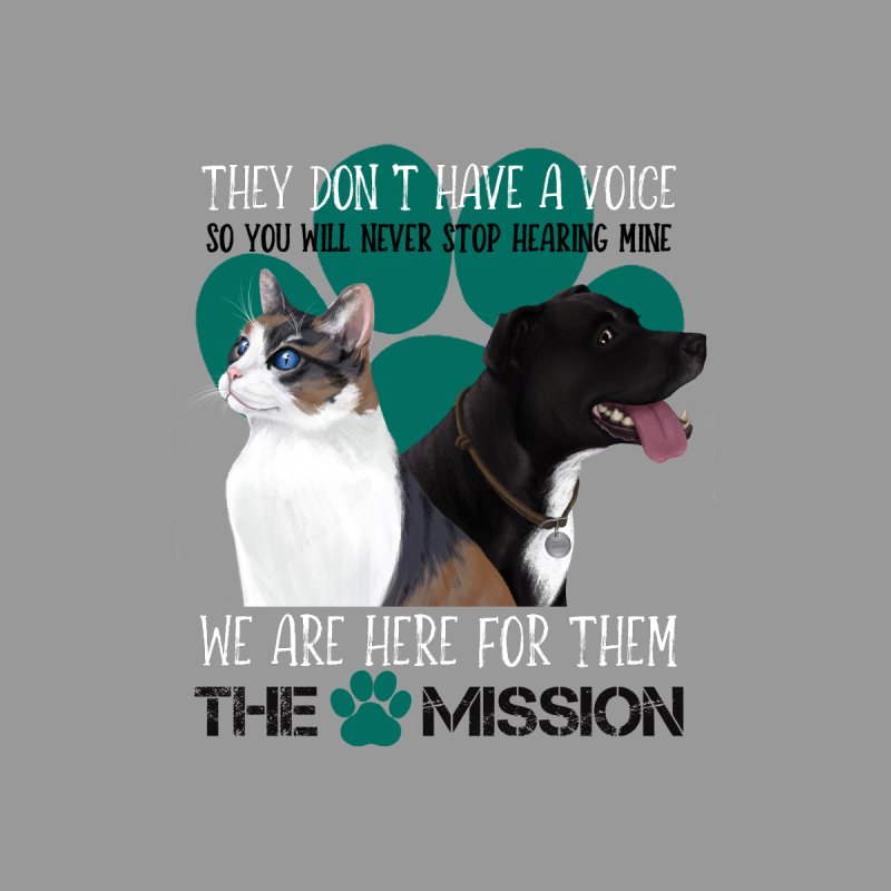 Hear My Voice Women's V-Neck by The PAW Mission
