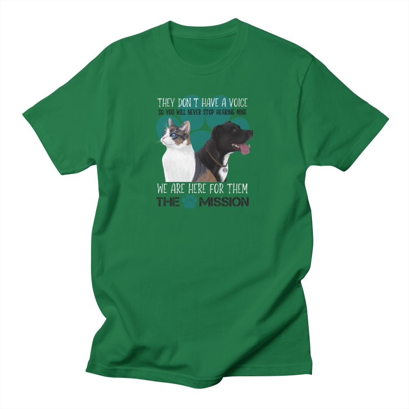 Hear My Voice Men's T-Shirt by The PAW Mission