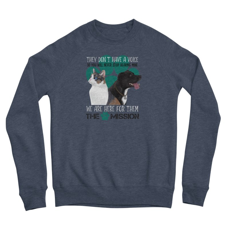 Hear My Voice Women's Sweatshirt by The PAW Mission