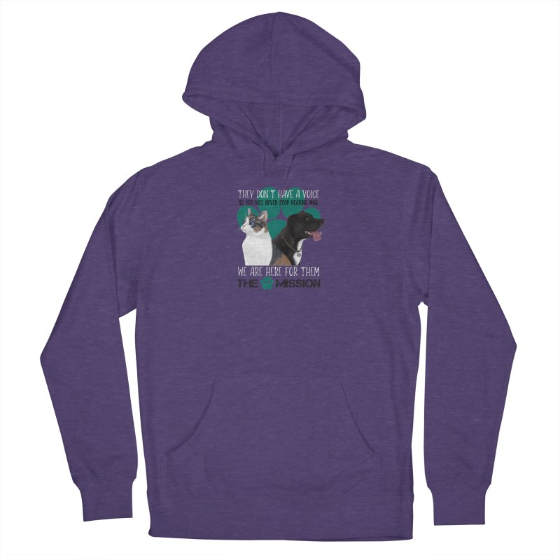 Hear My Voice Men's Pullover Hoody by The PAW Mission