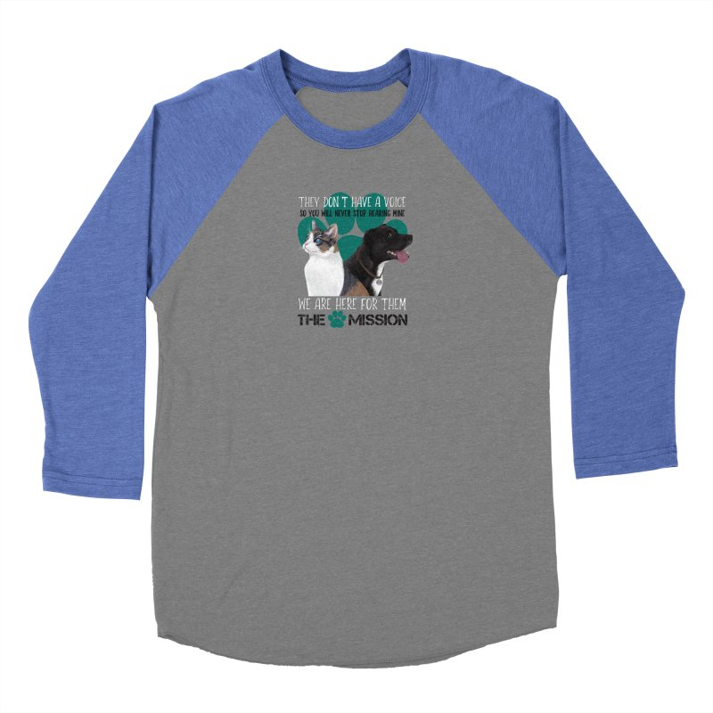 Hear My Voice Women's Longsleeve T-Shirt by The PAW Mission