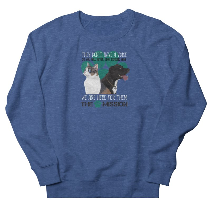 Hear My Voice Men's Sweatshirt by The PAW Mission