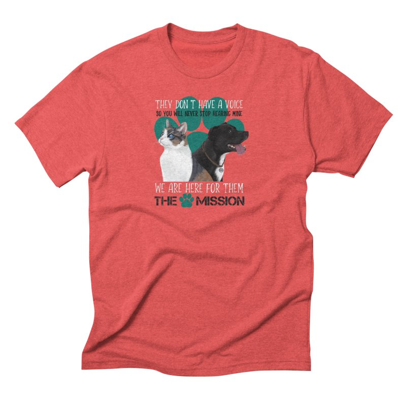 Hear My Voice Men's Triblend T-Shirt by The PAW Mission