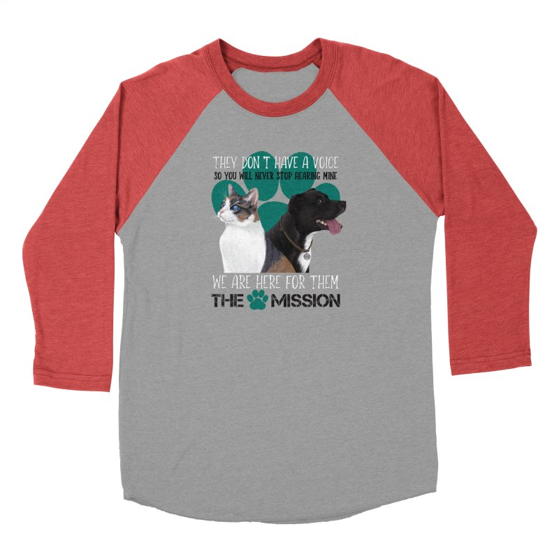 Hear My Voice Men's Longsleeve T-Shirt by The PAW Mission