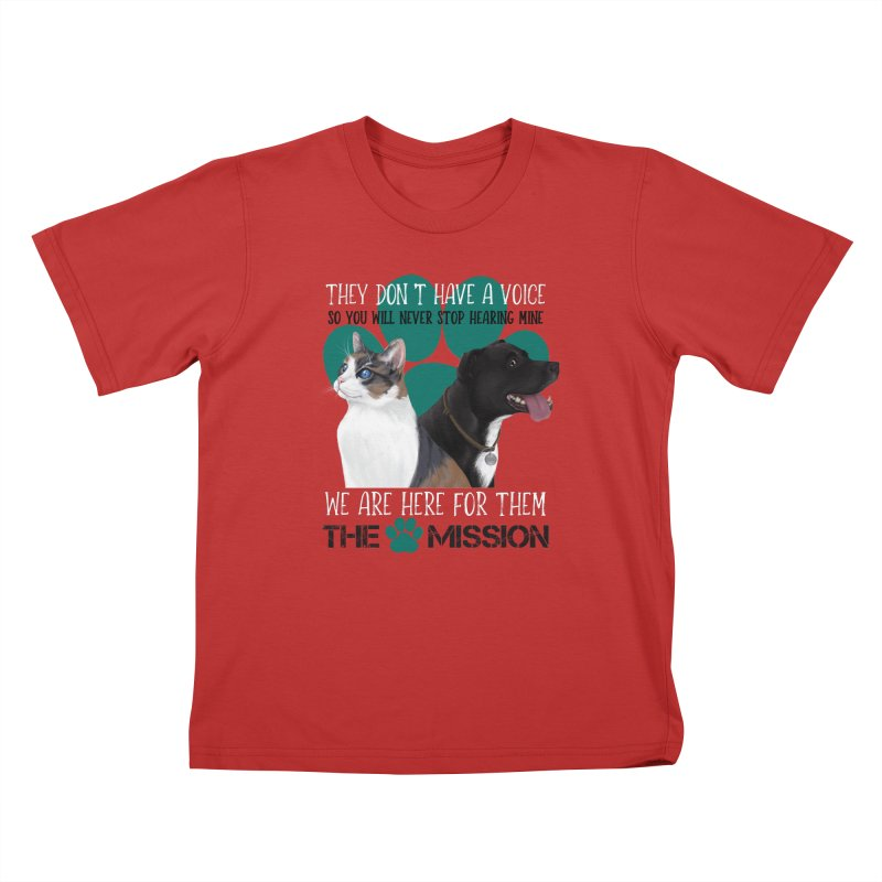 Hear My Voice Kids T-Shirt by The PAW Mission