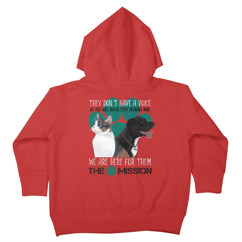 Hear My Voice Kids Toddler Zip-Up Hoody by The PAW Mission