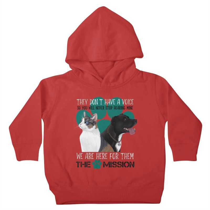 Hear My Voice Kids Toddler Pullover Hoody by The PAW Mission