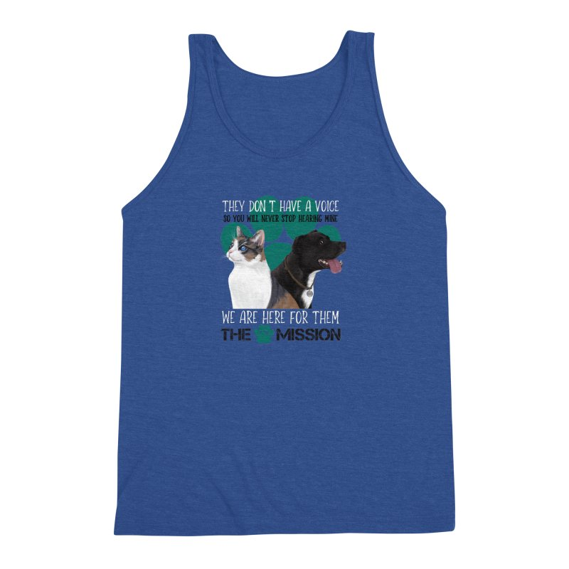 Hear My Voice Men's Tank by The PAW Mission