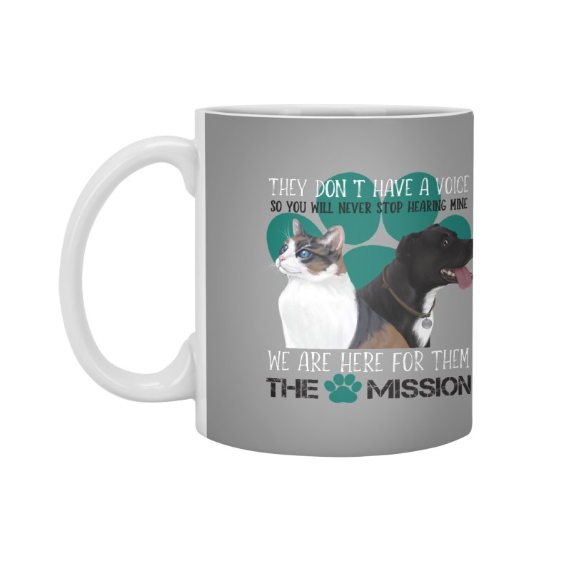 Hear My Voice Accessories Mug by The PAW Mission