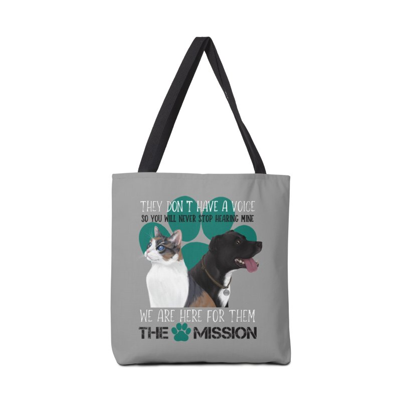 Hear My Voice Accessories Tote Bag Bag by The PAW Mission