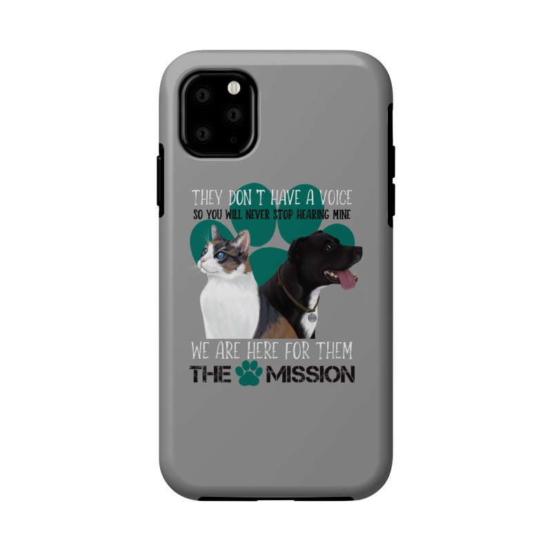 Hear My Voice Accessories Phone Case by The PAW Mission