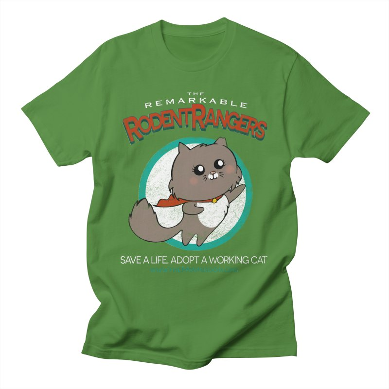 Rodent Rangers Men's T-Shirt by The PAW Mission